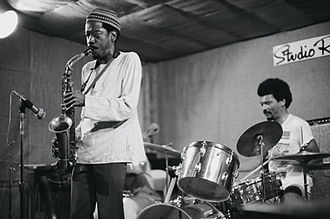 Sam Rivers - Jemeel Moondoc and Rashid Bakr at Studio Rivbea July, 1976