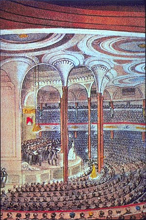 P. T. Barnum - Castle Garden, New York, venue of Lind's first American concerts