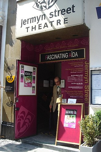 Fascinating Aïda - Jermyn Street Theatre, taken 24 May 2008, with Fascinating Aïda performing