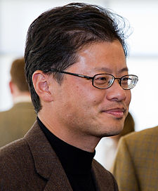 Jerry Yang, co-founder and CEO of Yahoo According to Forbes, the 432nd richest man in the world worth $2.2 Billion.