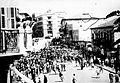 Jerusalem, Jaffa Road, a Jewish demonstration protesting against the White Paper's decisions. 1939 (id.14562784).jpg