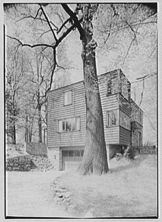 Louis Kahn - Jesse Oser House, Elkins Park, Pennsylvania (1940)