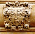 Jesus College crest, Ship Street entrance.JPG