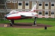 Jet Fighter on display at RAF Halton - geograph.org.uk - 1232024