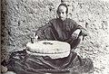 Jewish youth grinding coffee on millstone, Sana'a (Yemen) 1934.jpg