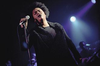 Jill Scott - Scott performing in Hamburg, Germany in 2000