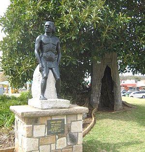 Crows Nest, Queensland - Jimmy Crow statue, Crows Nest Centenary Park