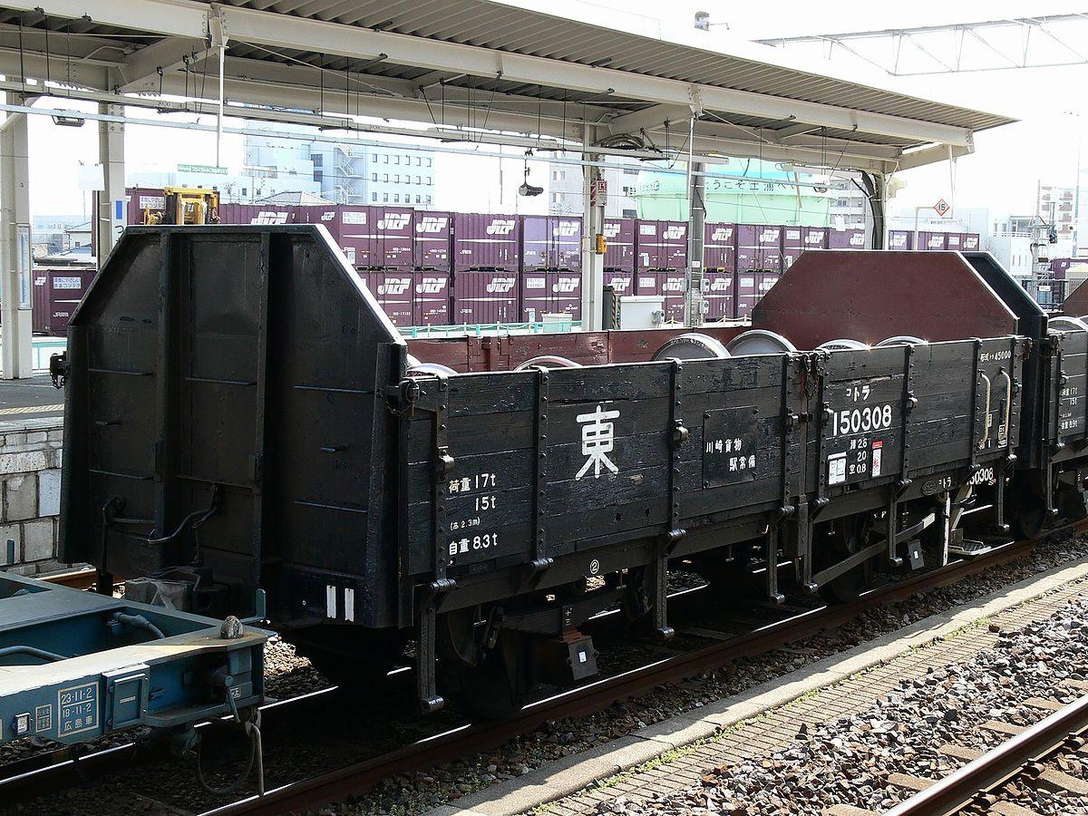国鉄トラ45000形貨車 - Wikipedia
