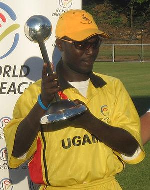 Uganda national cricket team - Joel Olweny, Captain of the Uganda Cricket team