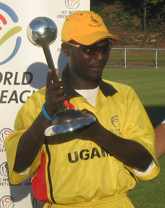 Uganda national cricket team - Joel Olweny, Captain of the Uganda Cricket team