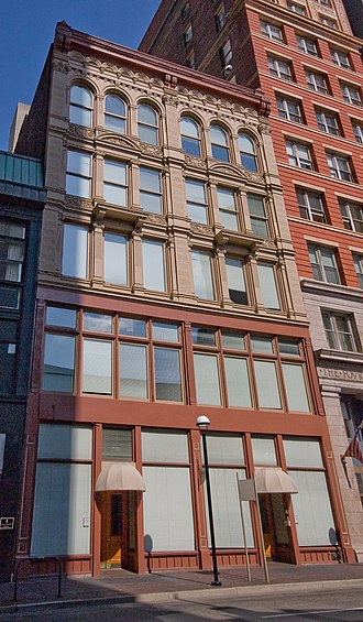 National Register of Historic Places listings in downtown Cincinnati - Image: John Church Company Building
