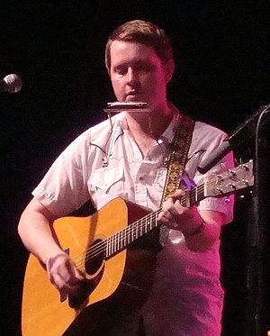 John Fullbright - Fullbright performing at the Woody Guthrie Folk Festival.