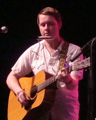 John Fullbright - Fullbright performing at the Woody Guthrie Folk Festival.