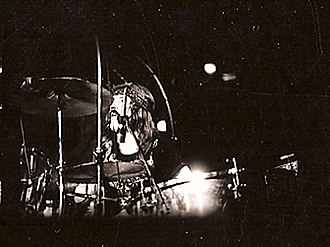 John Bonham - Bonham in Madison Square Garden with Led Zeppelin in 1973