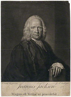 John Jackson (controversialist) English clergyman, born 1686