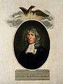 John Mayow. Coloured stipple engraving. Wellcome V0003949.jpg