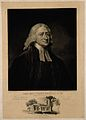 John Wesley. Mezzotint by W. Ward, 1825, after G. Romney, 17 Wellcome V0006240.jpg