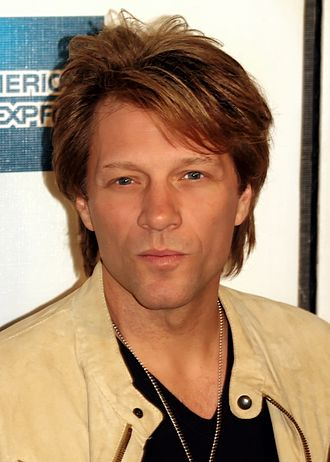 Jon Bon Jovi - Bon Jovi at the Tribeca Film Festival in 2009