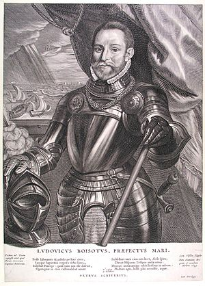 Battle of the Scheldt (1574) - Jonkheer Lodewijk de Boisot who led the fleet