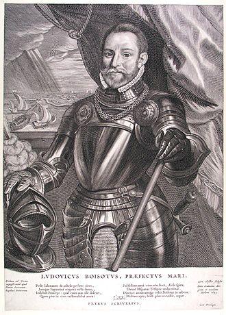 Battle of the Scheldt (1574) - Jonkheer Lodewijk de Boisot who led the fleet