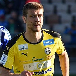 Joonas Vahtera Finnish footballer