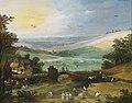 Joos de Momper - Summer landscape with figures bringing in the harvest.jpg