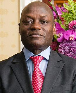 José Mário Vaz President of Guinea-Bissau