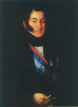 Jose María Moscoso de Altamira Quiroga, Count of Fontao - José María Moscoso de Altamira, conde de Fontao, by José María Galván y Candela. (Senate of Spain).