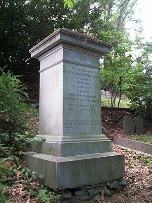 Joseph Emerson Worcester - Grave of Joseph Worcester in Mount Auburn Cemetery