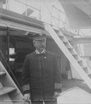 Joseph Coghlan - Coghlan commanding the USS Raleigh, circa 1898