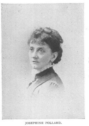 Josephine Pollard - Image: Josephine Pollard image