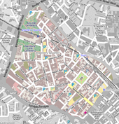 Map Showing The Extent Of The Jewellery Quarter