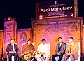 """Jual Oram at the closing ceremony of the """"Aadi Mahotsav"""" a Mega fortnight long National Tribal festival with the theme A celebration of the spirit of Tribal culture, cuisine & commerce, in New Delhi.jpg"""