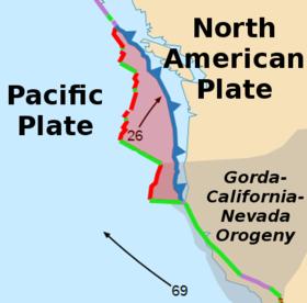 The Juan de Fuca Plate