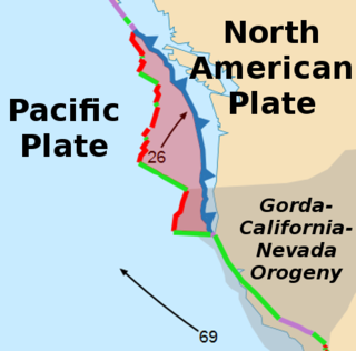 Juan de Fuca Plate A small tectonic plate in the eastern North Pacific