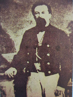 First Battle of Tabasco - Colonel Juan Bautista Traconis, governor and military commander of Tabasco