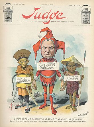 Judge (magazine) - Image: Judge August 11 1900 Bryan Against American Imperialism