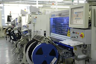 Juki Japanese sewing and pick and place machine manufacturer