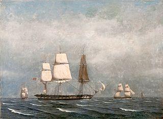 Danish frigate