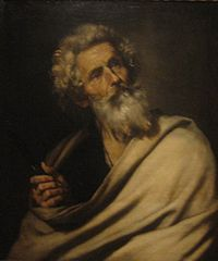 Jusepe de Ribera - -Saint Bartholomew', oil on canvas, 1643, El Paso Museum of Art.jpg