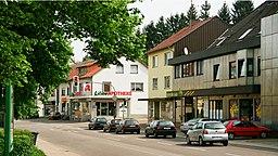 Hauptstraße in Püttlingen