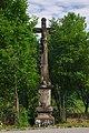 Kříž na začátku ulice U Abácie, Valašské Meziříčí, okres Vsetín.jpg