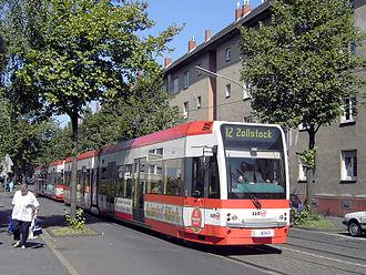Cologne Stadtbahn - Image: K4000 Koeln Zollstock