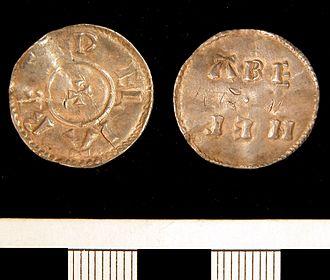 Guthrum - Silver penny of Æthelstan