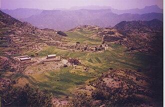 Irob people - Kafna Village.