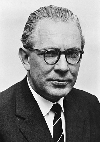 President of the Bundestag - Image: Kai Uwe von Hassel 1963