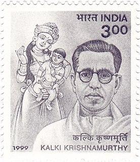 Kalki Krishnamurthy writer