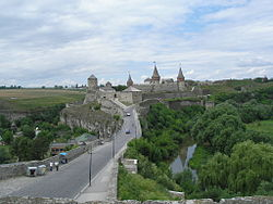מבט כללי על מבצר העיר קמניץ-פודולסקי
