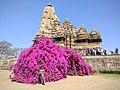 Kandariya mahadev temple- spreading grandeur in the courtyard of khajuraho.jpg