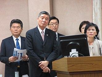 Kao Hua-chu - Kao in Legislative Yuan